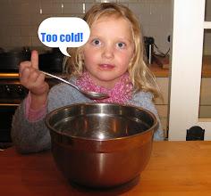 Photo: As for Mama Bear's porridge, it was definitely --
