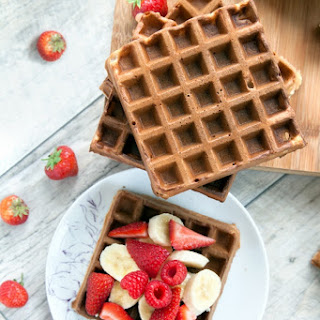 Wholemeal Fruity Waffles (Perfect for Kids) Recipe