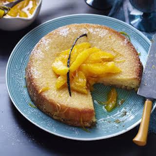 Citrus Semolina Cake.