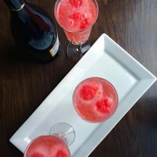 Raspberry-Ginger Bellini