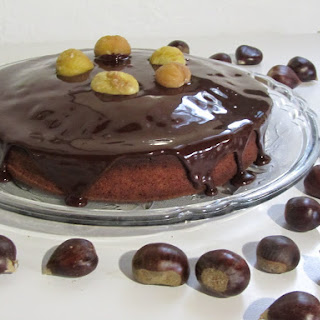 Chocolate Chestnut Cake.