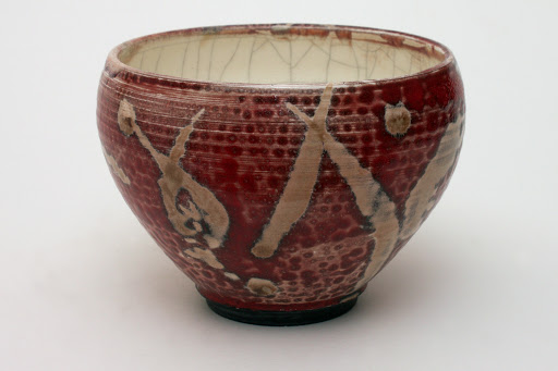 Bruce Chivers Ceramic Raku Tea Bowl 02