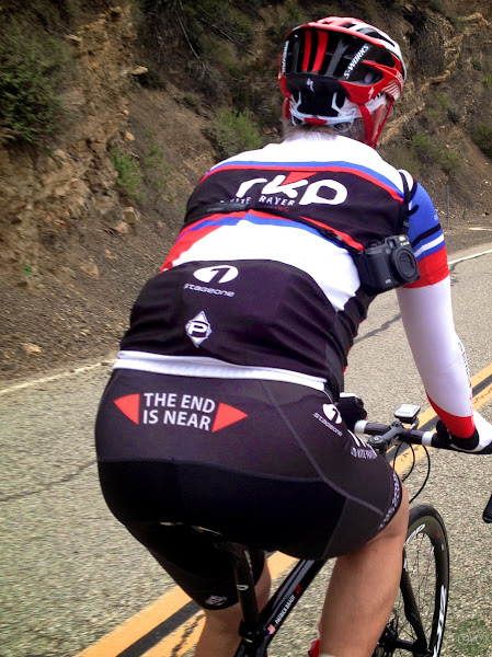 Photo: We tested SRAM 11 and Hyrdo on Mulholland drive