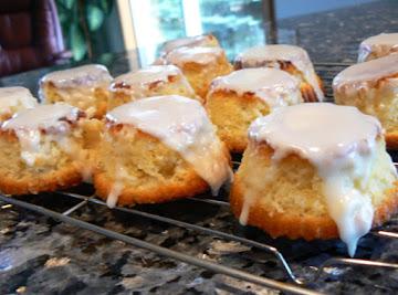 Mini Olive Oil Cakes With Lemon Glaze Recipe