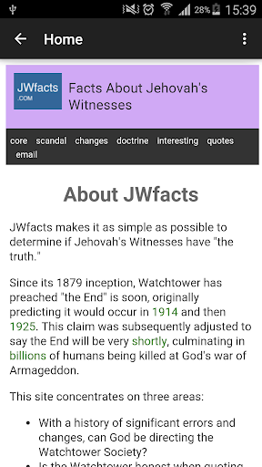 JW Facts