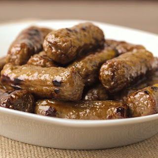 Maple Glazed Turkey Sausage