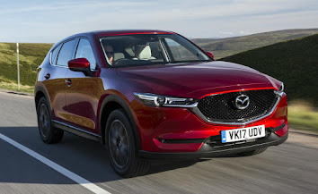 CX-5 moves up a level