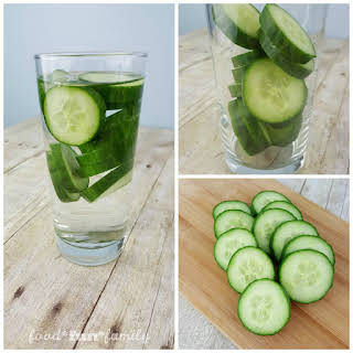 Detox Cucumber Water.