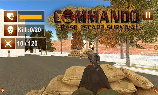 Commando Base Escape Survival - náhled