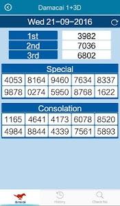 4D,Toto Results @6.33 (Sg &My) screenshot 5