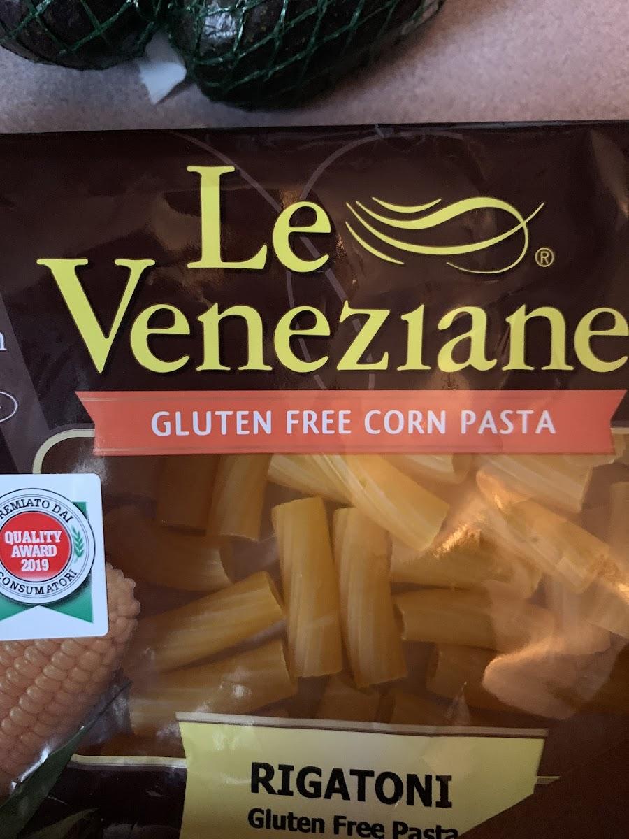 Gluten Free Rigatoni