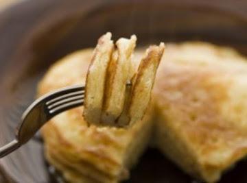 Yummy Sweet Rice/wheat Pancakes! Recipe