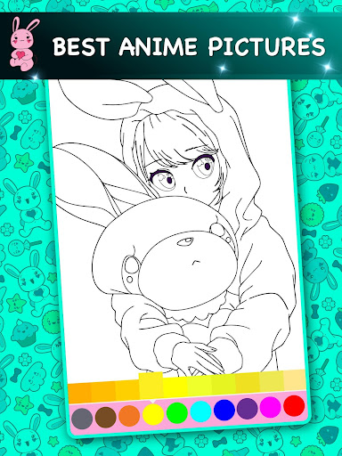Kawaii - Anime Animated Coloring Book 2.6 screenshots 11