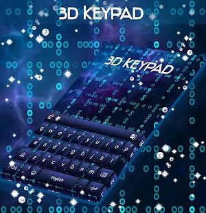 3D klávesnice - náhled