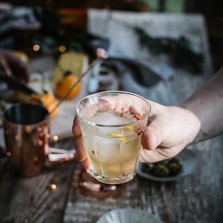 Ginger Kombucha & Vodka.