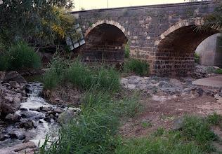 Photo: Ancient Roman bridge on the way to  the Jordan River crossing
