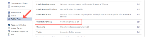 How to Turn Off Most Relevant Comments on Facebook