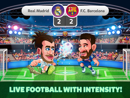 Head Soccer La Liga 2018 - Soccer Games  gameplay | by HackJr.Pw 9