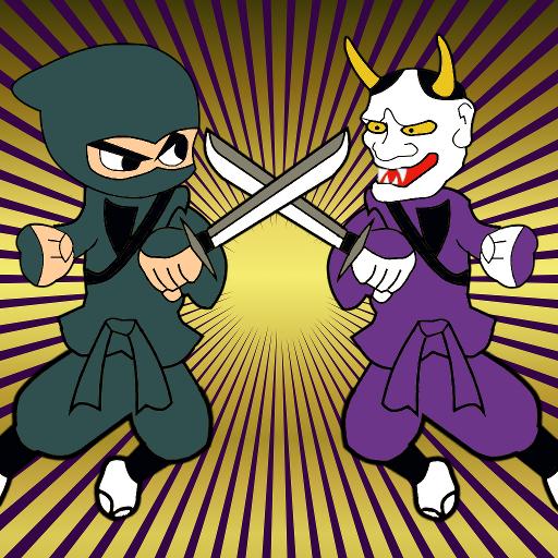 动作の忍者伝 LOGO-記事Game