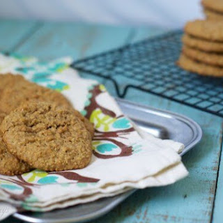 Gluten Free Peanut Butter Oat Cookies