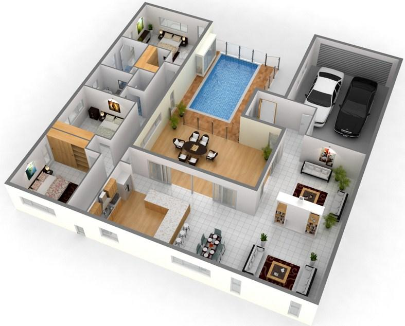 3D House Floor Plan Ideas - Android Apps On Google Play