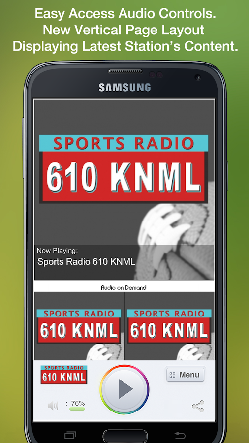 Sports Radio 610 KNML - screenshot