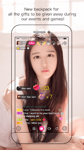 Creamy Show - Live Streaming Video Chat 2.7.2 screenshots 1