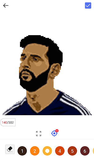 Football Pixel Art - Color By Number for PC