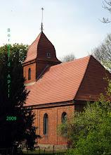 Photo: Dorfkirche Borgfeld bei Tützpatz  Mecklenburg-Vorpommern verfügt über einen Schatz von über 1000 Dorfkirchen. Hunderte dieser Schmuckstücke sind in ihrer Bausubstanz stark gefärdet und könnten in den nächsten Jahren unwiederbringlich verloren gehen.