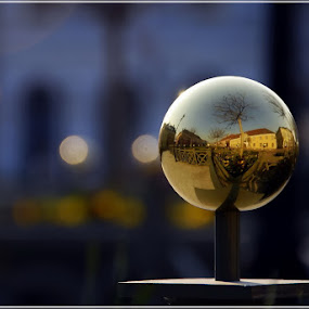 Globe by Gabor Dvornik - City,  Street & Park  Historic Districts ( pwcmirror-dq )