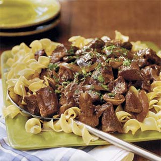 Beef With Red Wine Sauce