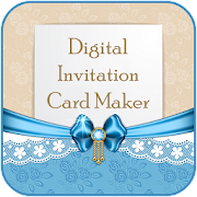 Digital Invitation Card Maker :Greeting Card Maker