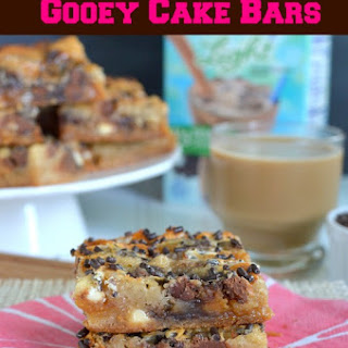 Caramel Macchiato Gooey Cake Bars
