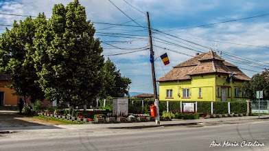 Photo: Bustul lui Mihai Viteazu Comuna Mihai Viteazu, jud. Cluj - Str. Principala (2013.06.10)