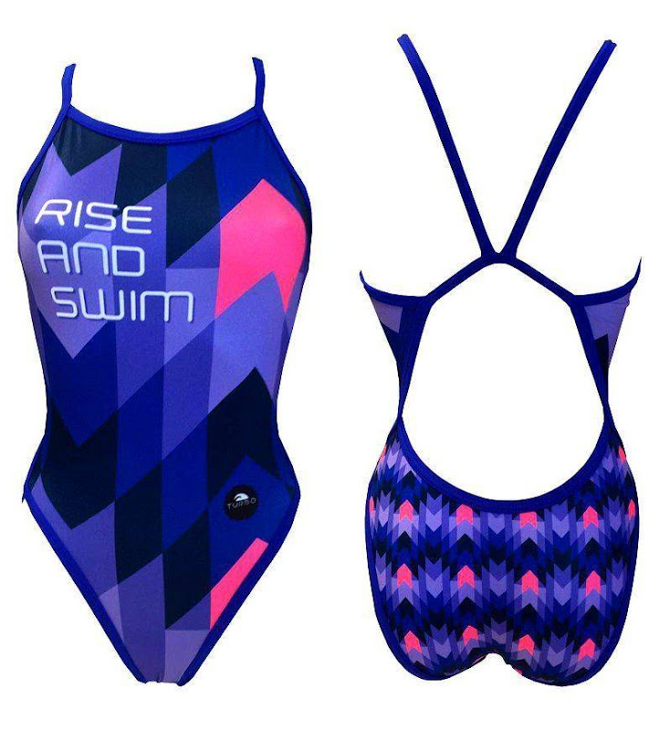 Turbo Swimsuit Women Rise and Swim - 83017430