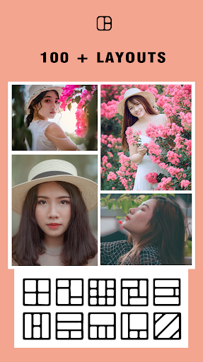 Photo collage maker & Photo Layout capturas de pantalla 1
