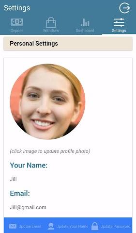 android CoolAppHQ PiggyBank Pro Screenshot 8
