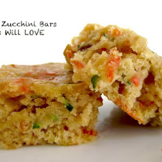 Carrot and Zucchini Bars Your Kids Will LOVE