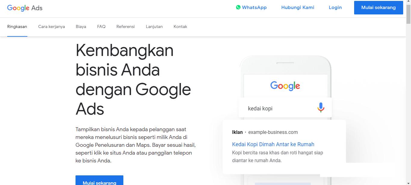 halaman-utama-dashboard-ads-google