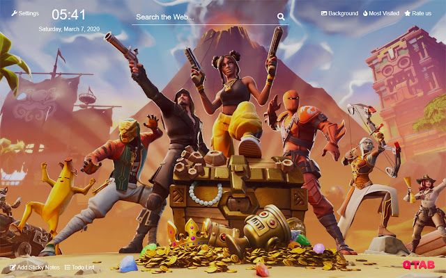 Fortnite Battle Royale Wallpapers For New Tab