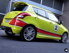 Photo: The Block Apartment 2 | Racing Stripes, Decal Kit. #TheBlock #racingstripes #decalkit #graffiti