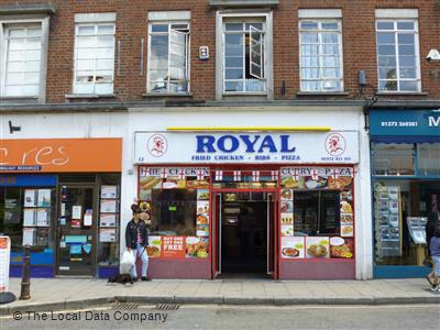 Royal Chicken Pizza On North Street Fast Food Delivery