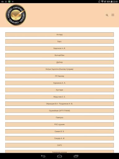 Ножи от А до Я. Справочник screenshot 15