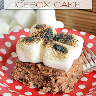 Ten-Minute Layered S'mores Icebox Cake
