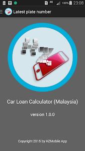 Car Loan Calculator (Malaysia) screenshot 7