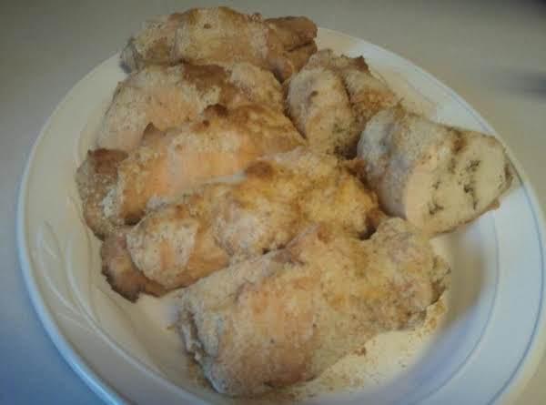 Parmesan Chicken Breast Roll Ups