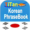 Korean conversation phrases icon