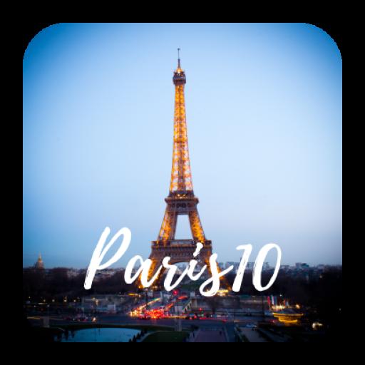 Париж - путеводитель и оффлайн карта от Paris10.ru