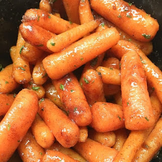 Slow Cooker Glazed Carrots with Brown Sugar Recipe