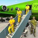 US Army Prisoner Transport Plane: New Army Games icon